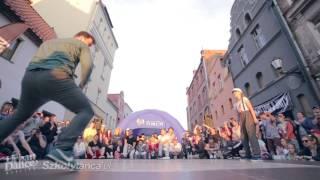 Finał Locking na Urban Dance Meeting vol. 8: Qba vs Paulina