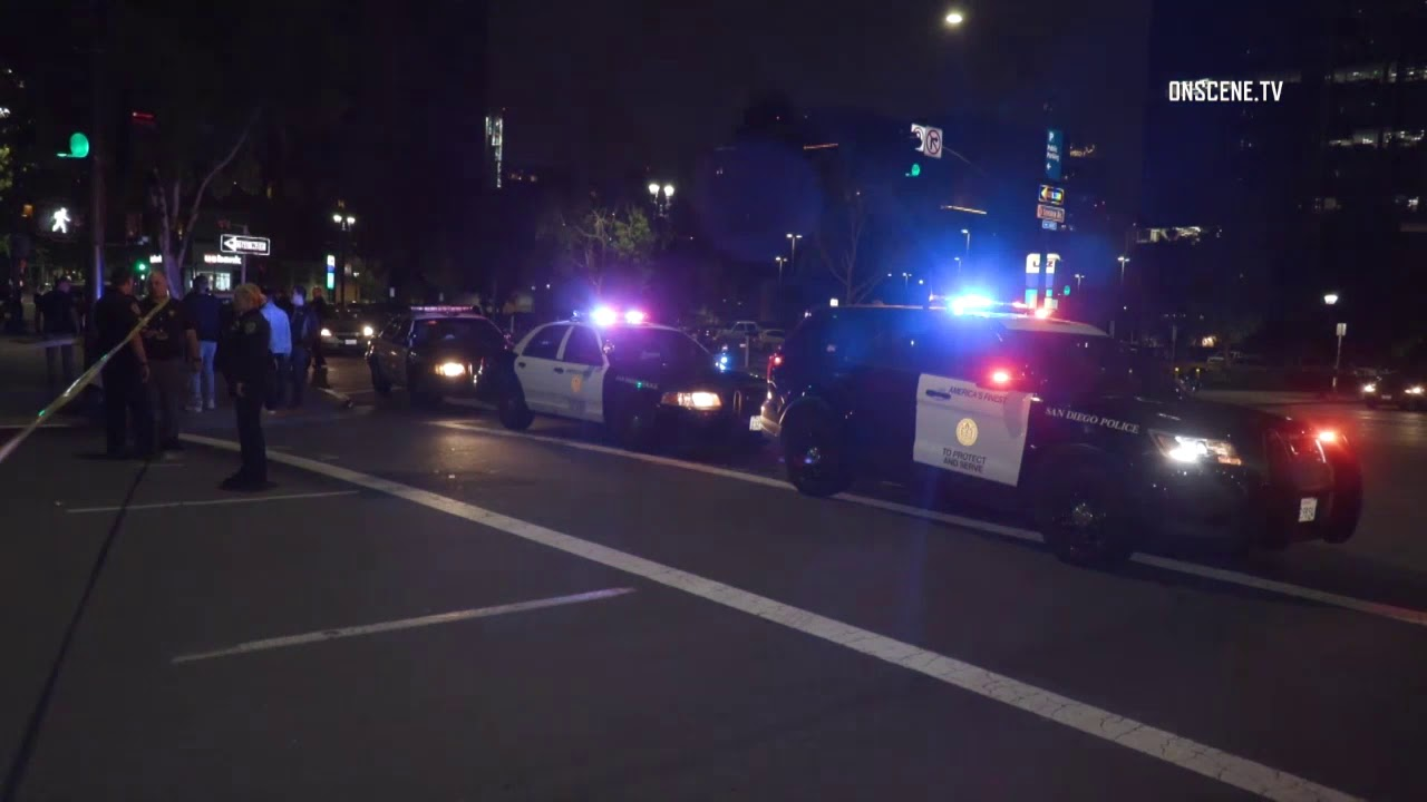San Diego:Possible Fatal in Downtown Crash 06142019