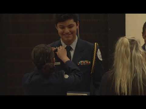 The Novato High School Air Force Junior ROTC Awards Night Ceremony