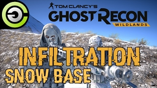 Ghost Recon: Wildlands - Closed Beta: Two Man Arctic Assault on Snow Base [Ghost Difficulty]