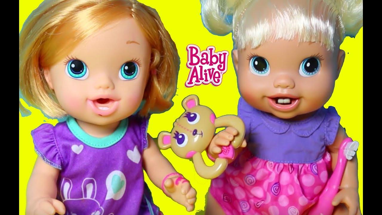 Baby Alive New Teeth Brushy Brushy Baby Bear Toy Youtube