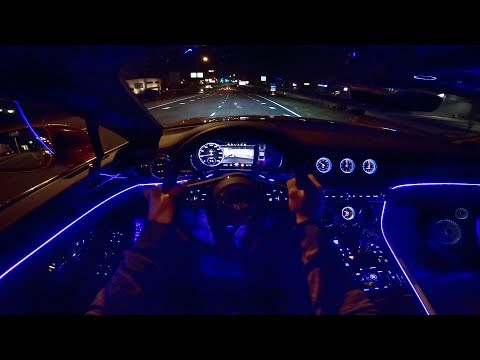 2019 Bentley Continental GT POV NIGHT DRIVE Ambient LIGHTING by AutoTopNL
