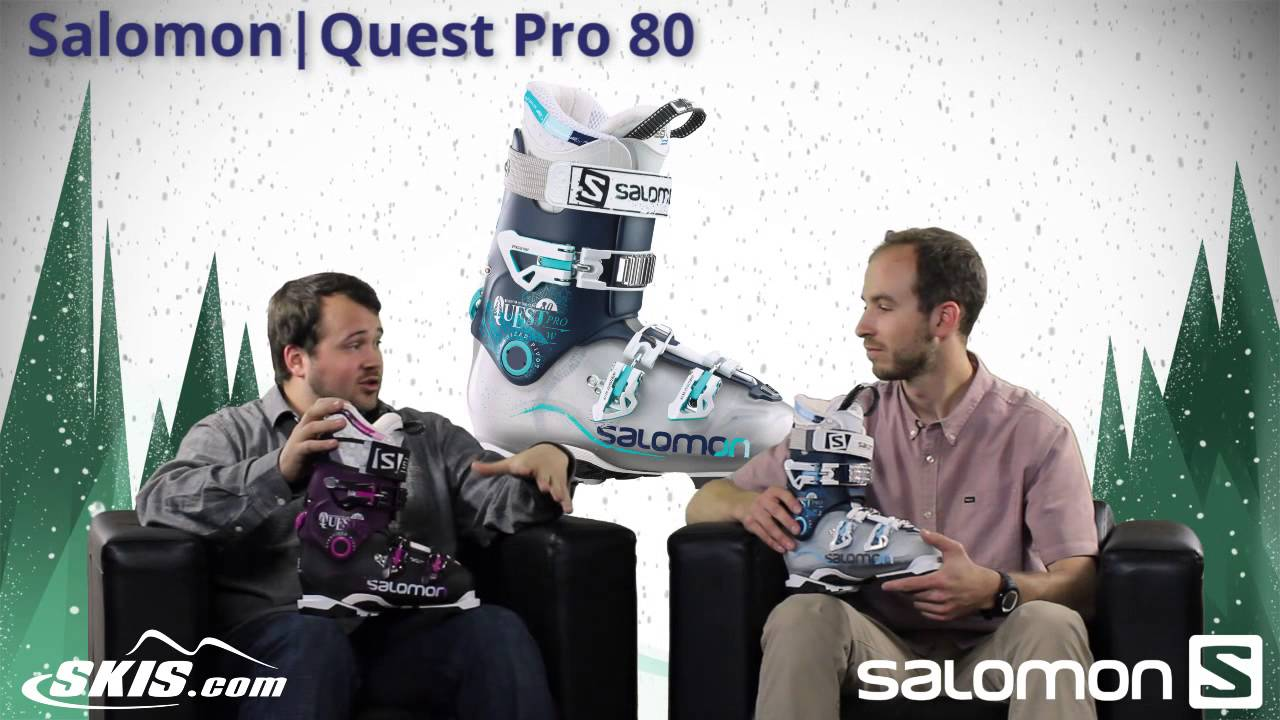 2016 Salomon Quest Pro 80 and 100 Womens Boot Overview by SkisDOTcom