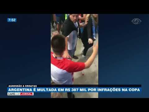 Argentina é Multada Em R$ 387 Mil Por Infrações Na Copa