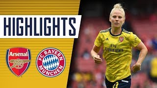HIGHLIGHTS: Arsenal Women 0-1 Bayern Munich Women | Emirates Cup 2019