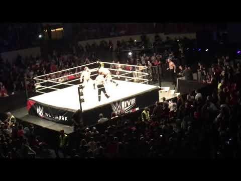 Rusev vs Triple H - WWE Live: Lisbon, Portugal