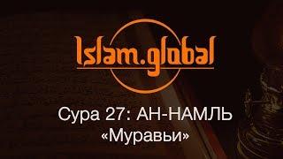 Сура 27: «Ан-Намль» (Муравьи)
