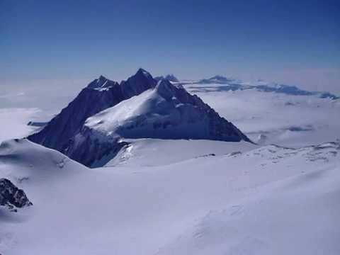 Summit Panorama from Mount Vinson, Antarctica