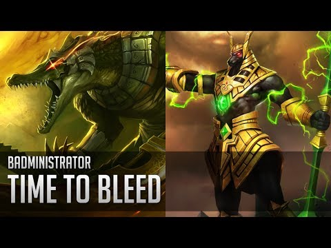 Badministrator - Time to Bleed (Nasus/Renekton Tribute)