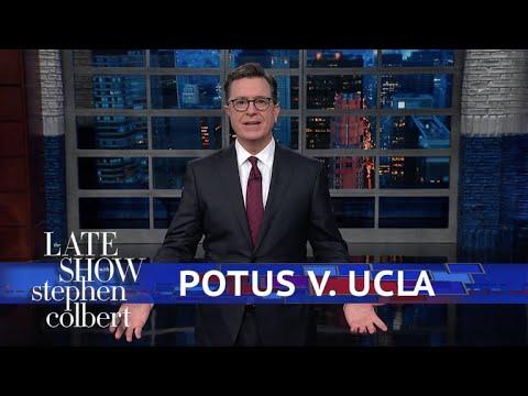 Trump Demands 'Thanks' From UCLA Basketball