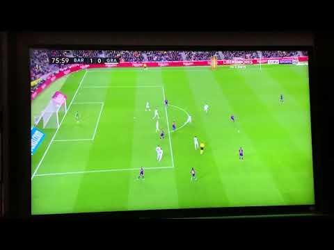 Barcelona vs Granada 19/01/2020 gol Messi 1-0