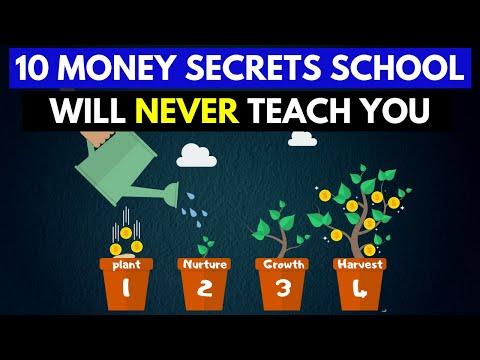 10 Money Secrets You Won't Learn In School