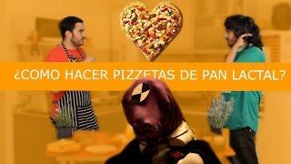 ¿COMO HACER PIZZETAS DE PAN LACTAL?-COCINA BASICA PARA EL HOMBRE INUTIL