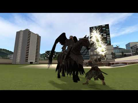 Gmod: Balor vs Gwyn Lord of Lightning  