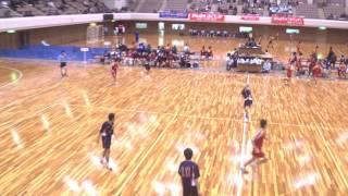 平成24年第21回JOCジュニアオリンピックカップハンドボール大会 岩手VS長崎(男子予選リーグ)