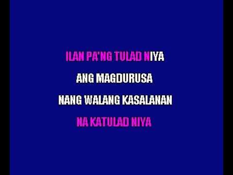 Ddie Aguilar   Katarungan Filipino Karaoke
