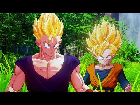Dragon Ball Z: Kakarot - Goten & Trunks Become Super Saiyans