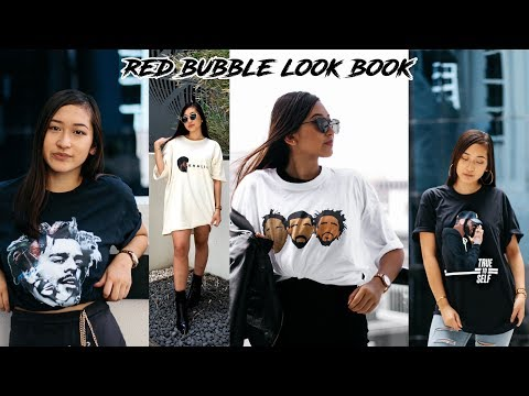 REDBUBBLE LOOK BOOK   R&B Hip Hop T-shirts