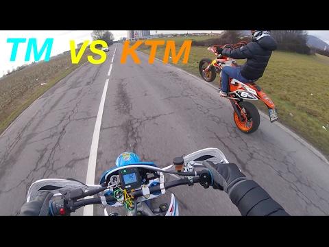 TM & KTM  |WHEELIE RIDE|