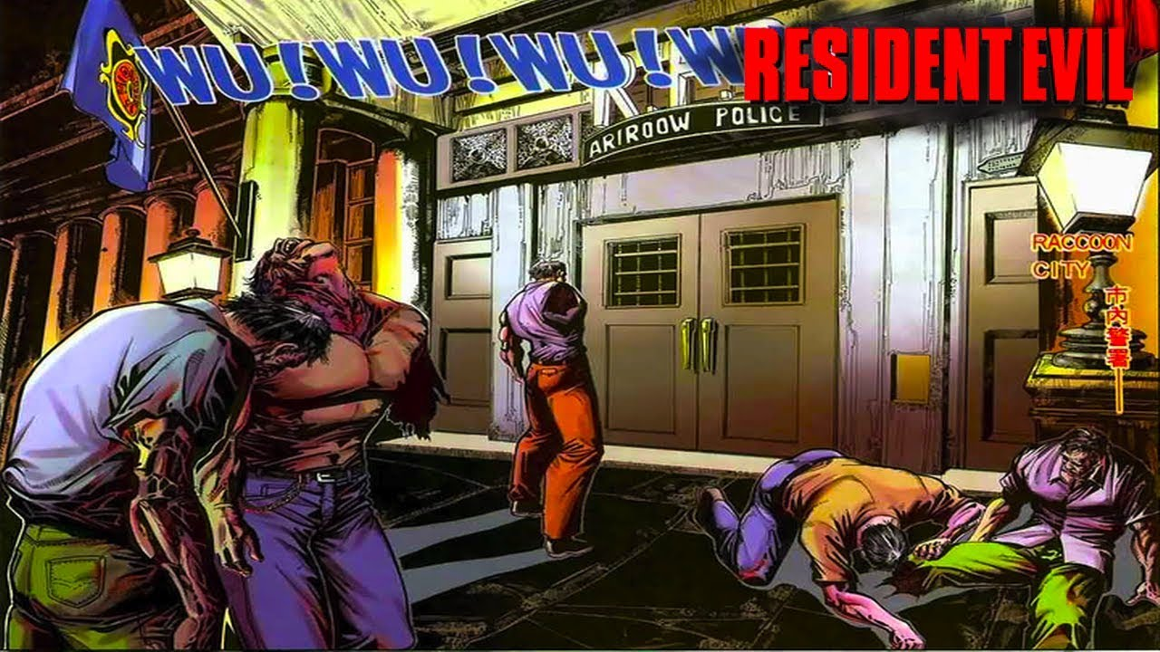 Q Es Raccoon City Resident Evil - How Th...
