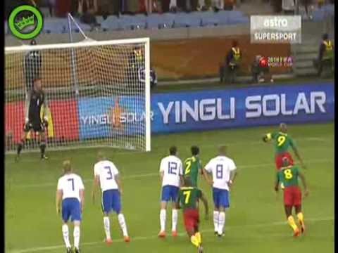 Worldcup 2010: Cameroon 1-2 Netherlands Full Highlights (Extra Long)