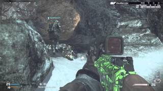 Call of Duty Ghosts Multiplayer gameplay german /ps4 sniper