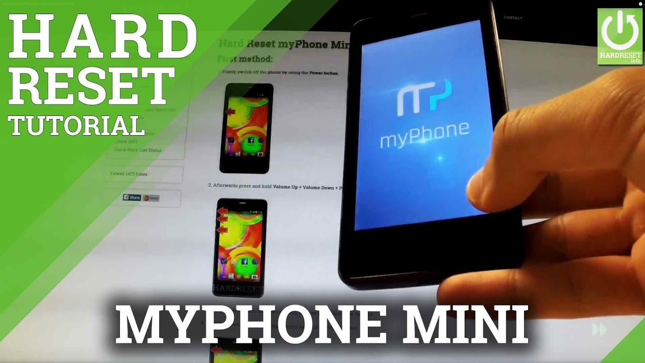 Hard Reset myPhone Mini - HardReset info