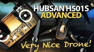Hubsan H501S X4 Advanced - HIT A TREE & Follow Me - TESTED
