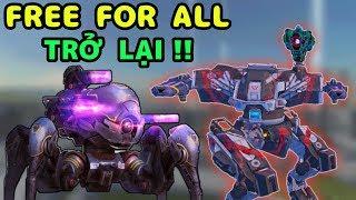 Free For All Rank Vô Địch Trở Lại!!! War Robots MyHu Vs Free For All Gameplay