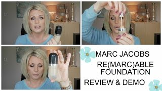 MARC JACOBS RE(MARC)ABLE FOUNDATION - REVIEW&DEMO