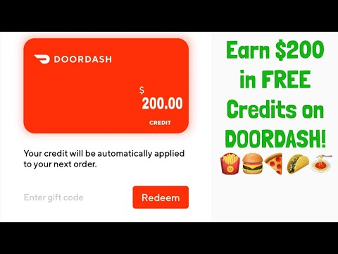 How To Get FREE FOOD With DoorDash!!!! (2019)