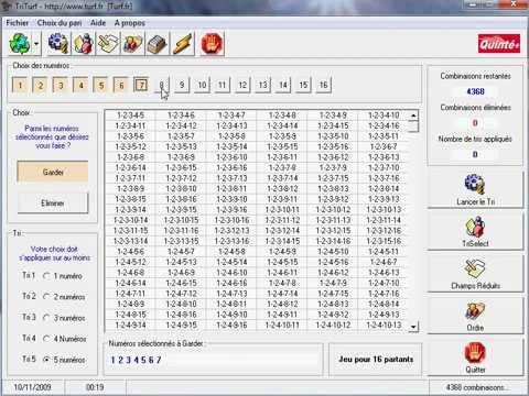le logiciel triturf