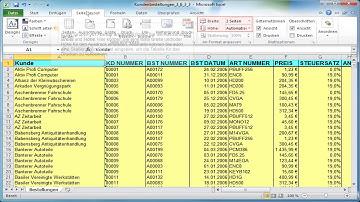 In Excel eine Tabelle ausdrucken