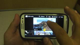 Video Maker Android App On Samsung Galaxy S3 - Sprint Version(In this video I show an app called Video Maker available at the Samsung App store for free. It's not the best movie maker I've seen, but it's free and it does the job ..., 2012-07-13T11:44:29.000Z)
