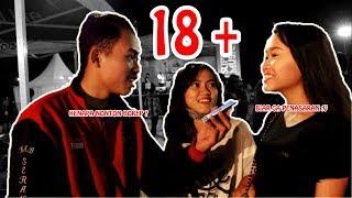 CEWEK DI TANYA TENTANG BOKEP 18 +++,APA JAWABAN MEREKA!!??? #YONgobrol