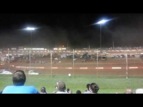 Boat race Dixie speedway