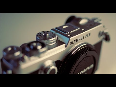 Olympus PEN-F Unboxing + A Few Quick Snaps (Video Shot On JVC LS300)