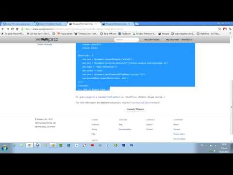 Flatcast-Woopra Kurulumu ve Kullanımı