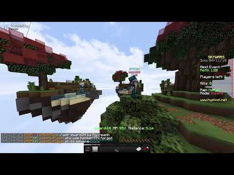 Fly Hacker (Evidence for hypixel)