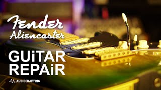 Fender Stratocaster Guitar Repair | Greenie Strat