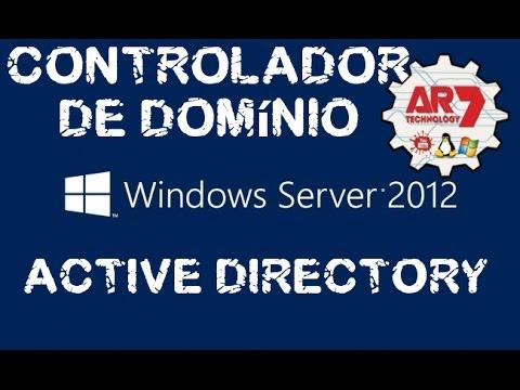 Controlador de Domínio ( Active Directory ) com Windows Server 2012