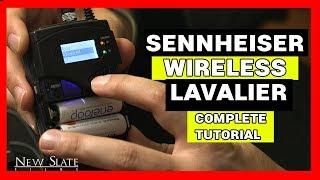 How to Setup Sennheiser G4 Wireless Lavalier - Complete Tutorial
