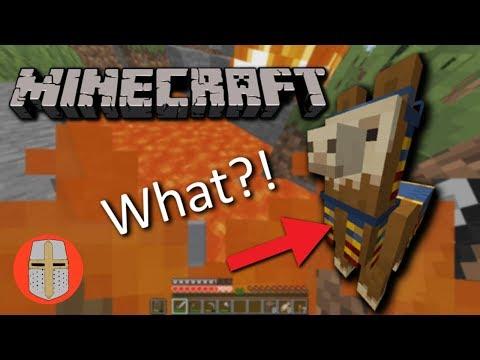 I Stole A Llama In Minecraft!