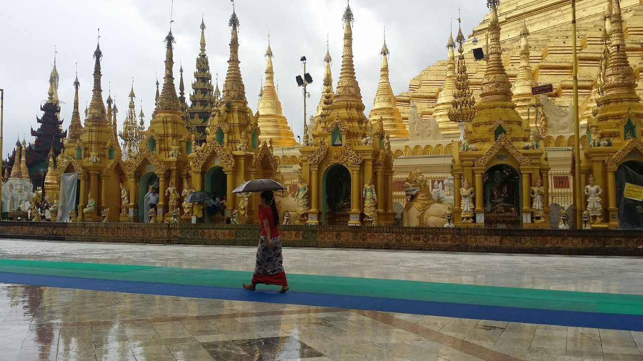 Kinh nghiệm du lịch Myanmar 8/2018 – Yangon phần 1