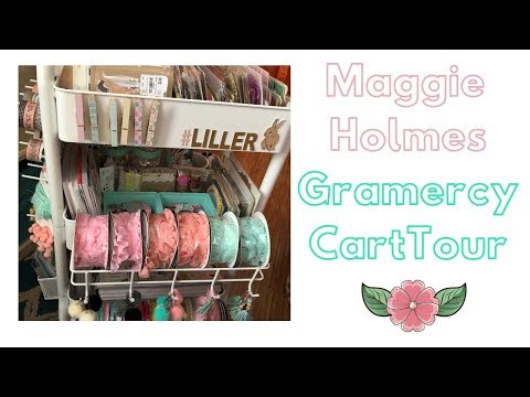 90f184304462 Maggie Holmes Gramercy Cart TOUR!!! - YouTube