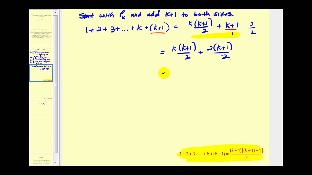 Download Mathematical Induction