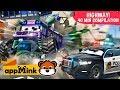 #appMink car animation – Team Police Cars Catching Evil Bus Kids cartoon
