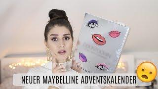 DER NEUE Maybelline Adventskalender 2018 😦