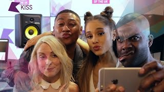 Ariana Grande plays the Focus On Me Game - PART 2 | KISS