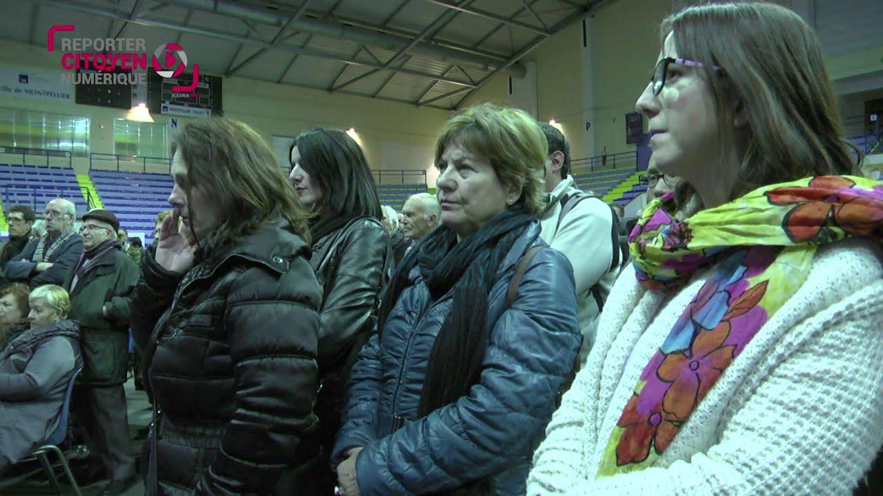 Philippe Saurel présente ses voeux 2016 à la Paillade